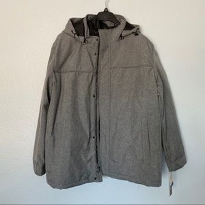 NEW DOCKERS 3-in-1 Hooded Soft Shell System Jacket